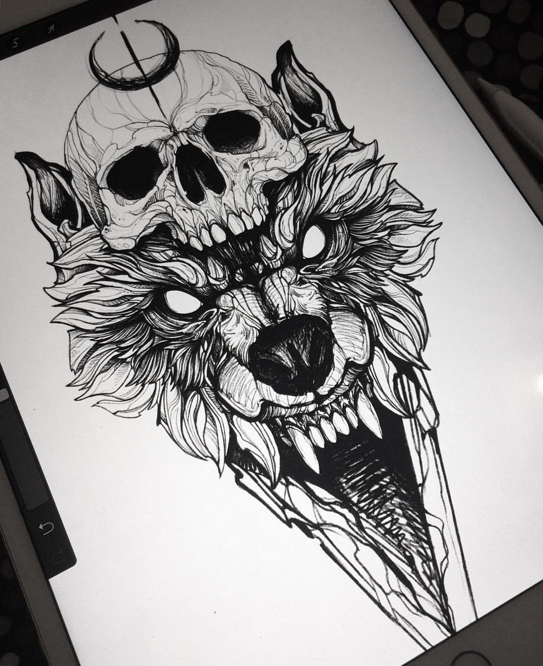 054e1611d WolfTattooIdeas | Tattoo | Wolf tattoos, Tattoo drawings, Tattoo ...