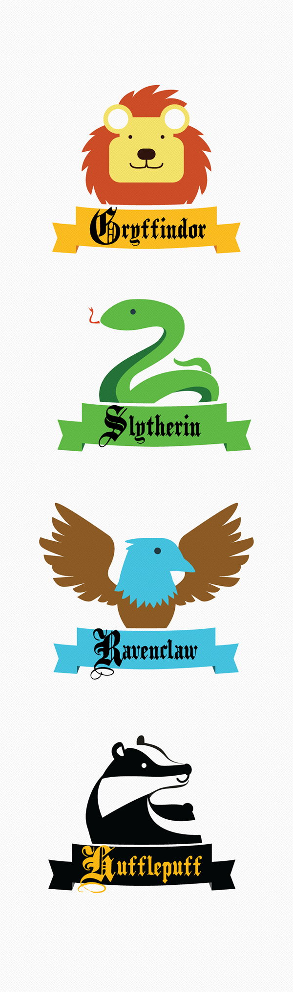 Baby Hogwarts Houses On Behance