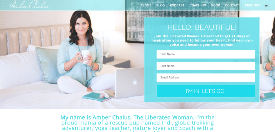 12 Examples of Divi Personal Coaching Websites | Coaching ...