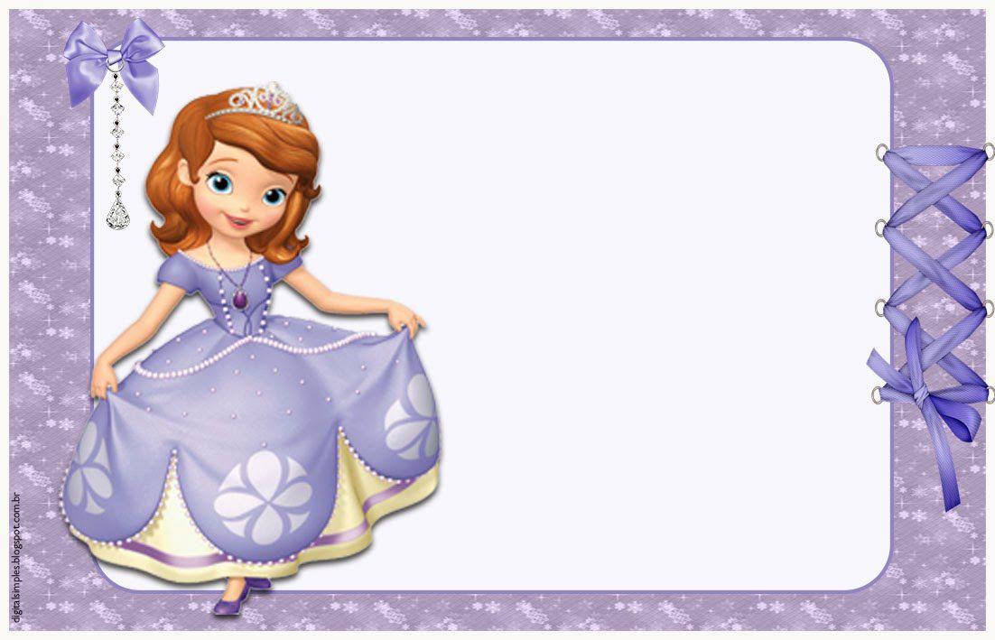 Convites anivers rio para imprimir convites digitais - Foto princesa sofia ...