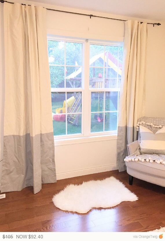 12 Off Till Sunday Custom Ivory And Taupe Light Gray Striped Curtains Stripes