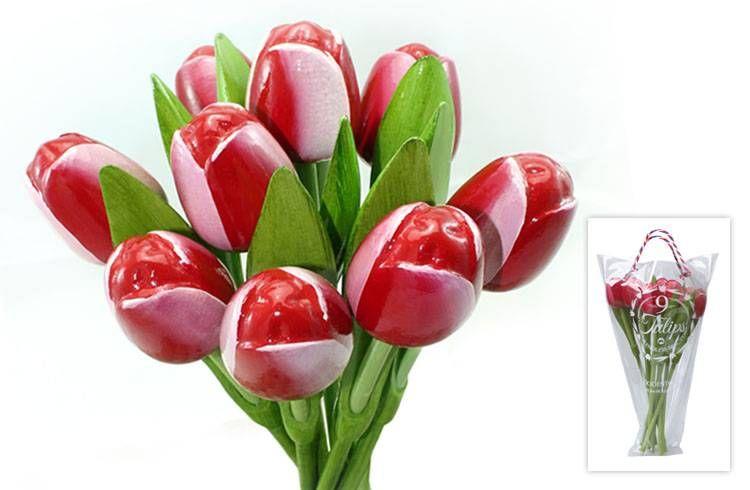 Houten Tulpen