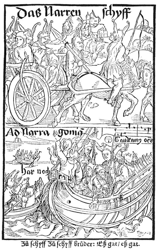 Navigating Dürer's Woodcuts for The Ship of Fools   The Public Domain Review