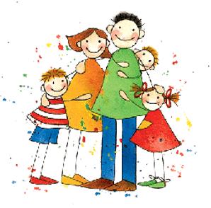 Tener Una Familia Estable Familia Dibujos Familia Feliz Dibujo Dia De La Familia