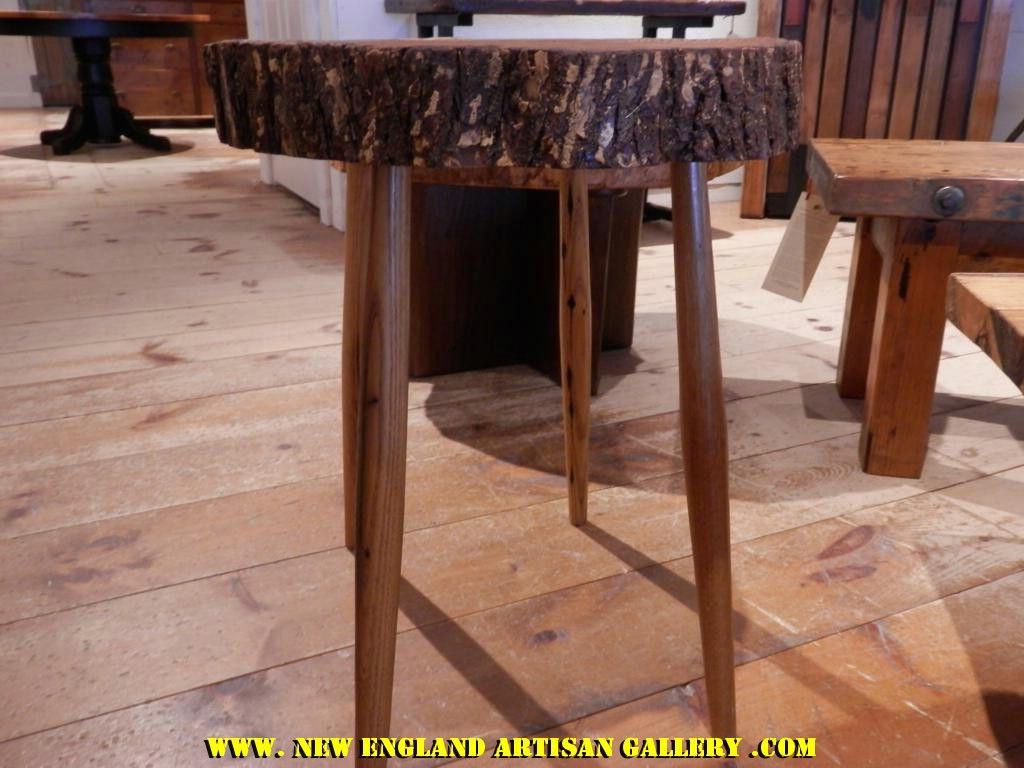 SP 20 Tree Slab Table This unique table was created from a slab of