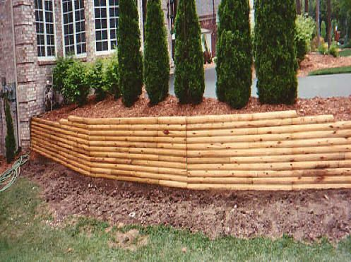 Charlotte Nc Retaining Walls We Do It All Low Cost Erosion Control