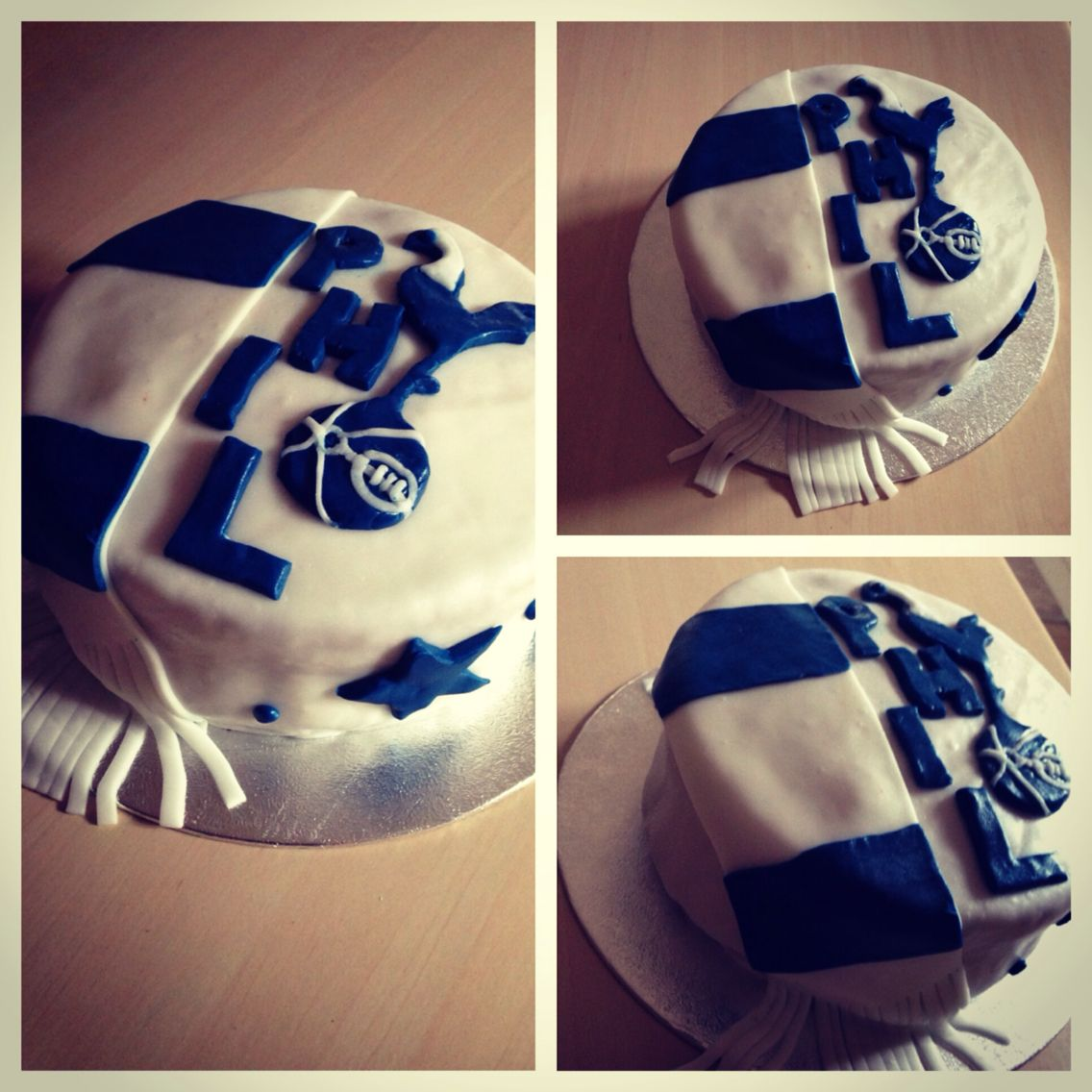 This years birthday cake for Phil! Tottenham Hotspur