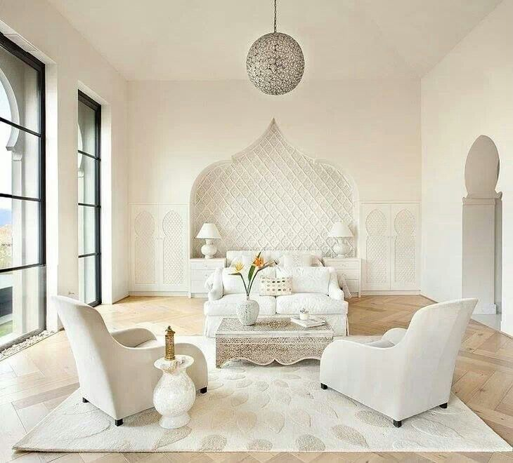 Light and white moroccan style decoraci n pinterest - Casas marroquies ...