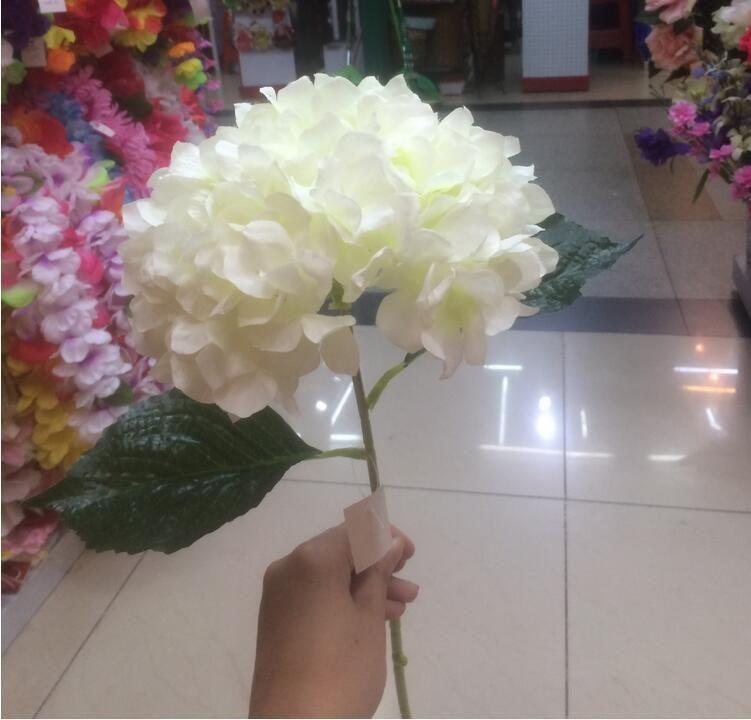 Artificial hydrangea flower 80cm315 fake silk single hydrangeas 6 buy best and latest brand artificial hydrangea flower 80cm315 fake silk single hydrangeas for mightylinksfo