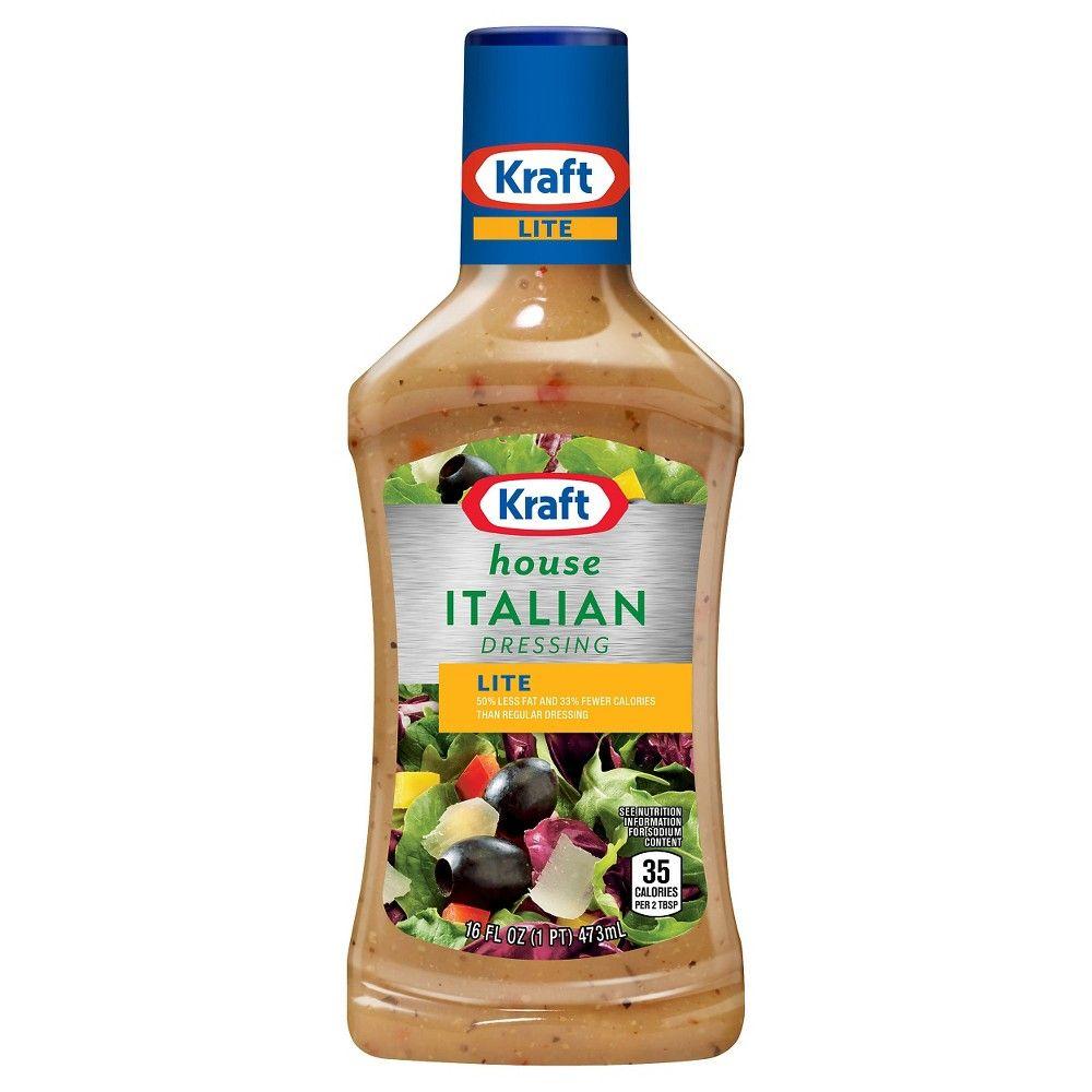 fe67cc43e Kraft Light House Italian Salad Dressing 16oz | Products | Italian ...
