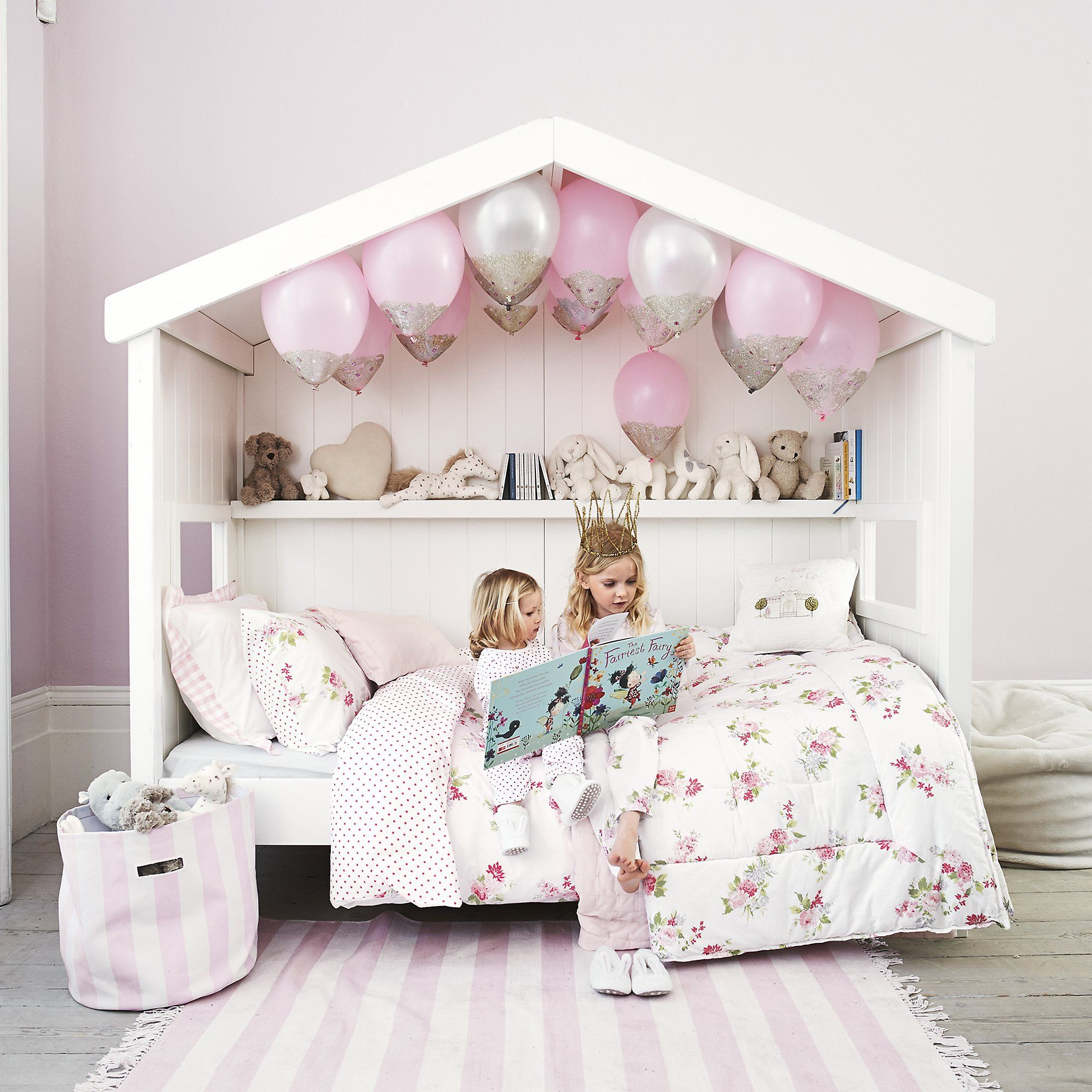 Isabella Bed Linen The White Company This Is It This Is The Cutest Bed Ever Just Need It Unless We Find One Childrens Bedrooms Girl Room Toddler Bedrooms