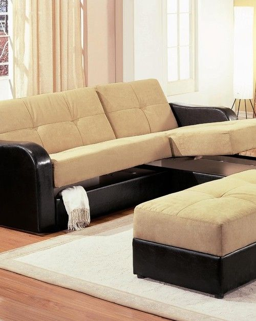 Best Brown Sectional Sofa With Sleeper Storage Мебель 400 x 300