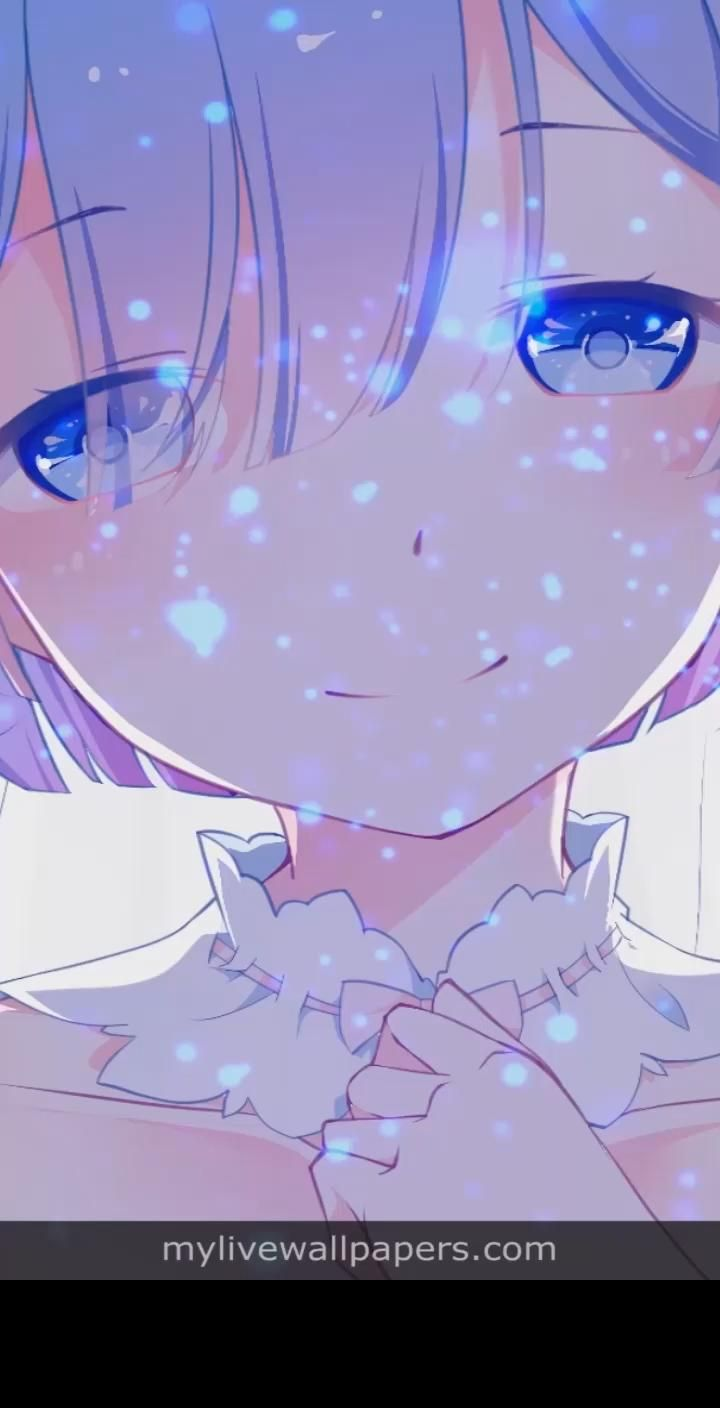 Re:Zero - Starting Life in Another World Rem cute aesthetic anime girl