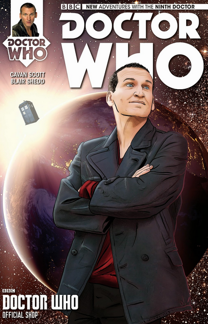 Ninth Doctor Issue #1 variant: Doctor Who Shop
