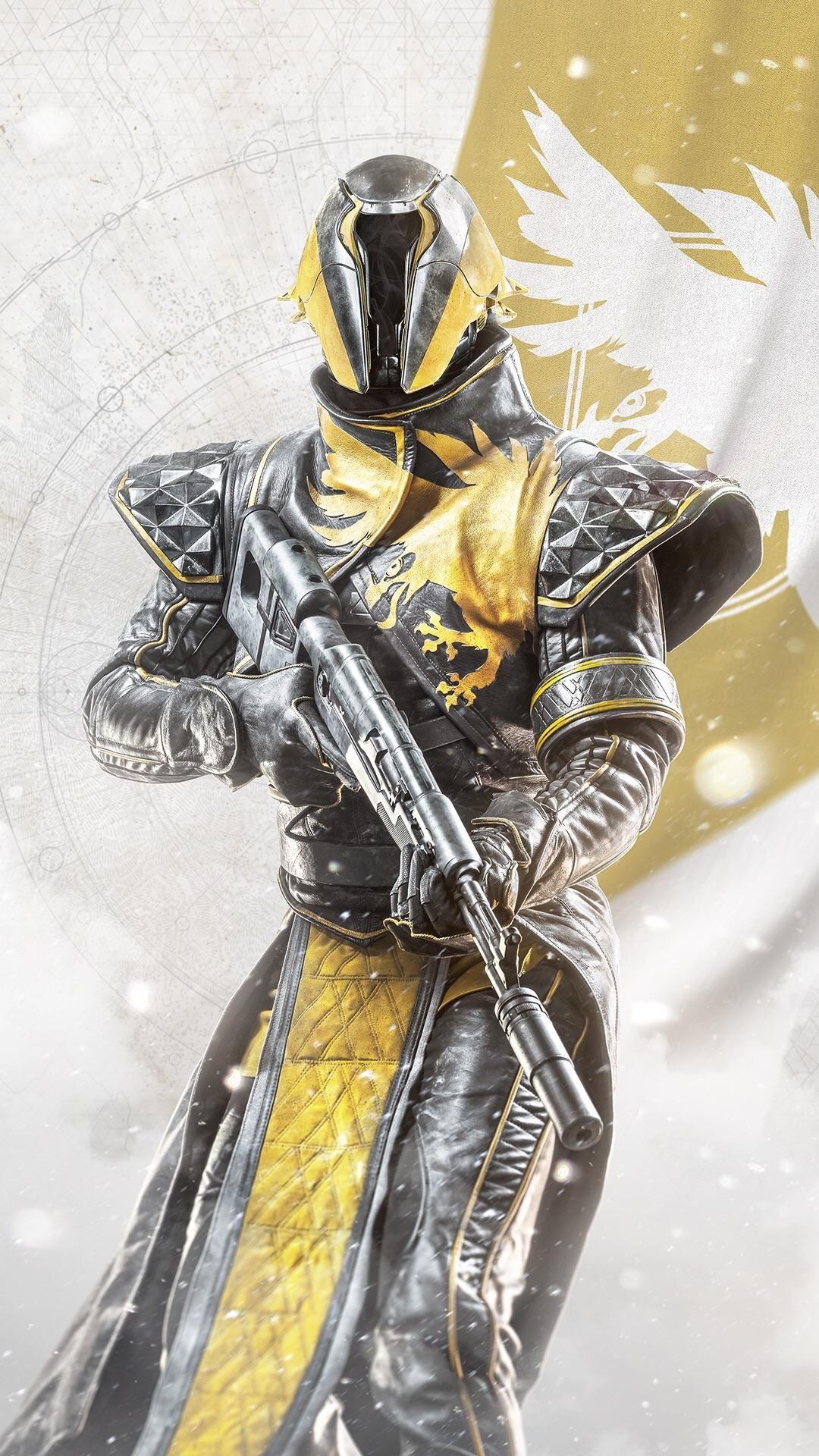 Destiny 2 Warlock smartphone wallpaper gaming