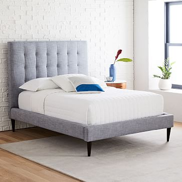 Grid Tufted Upholstered Bed Tall Tufted Upholstered Bed Upholstered Beds Tall Bed