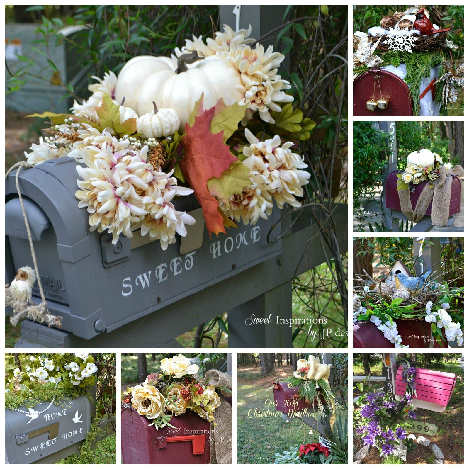 Sweet Inspirations by JP designs: Mailbox Makeover for Fall