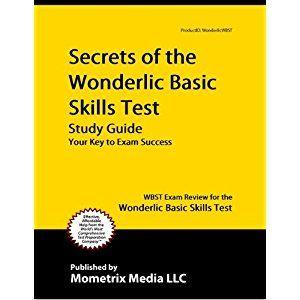 secrets of the wonderlic basic skills test study guide wbst exam rh pinterest com wonderlic basic skills test study guide gace basic skills test study guide