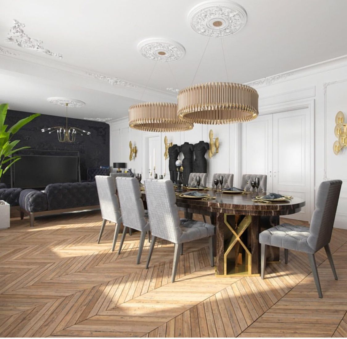 A modern apartment in Kiev with a
