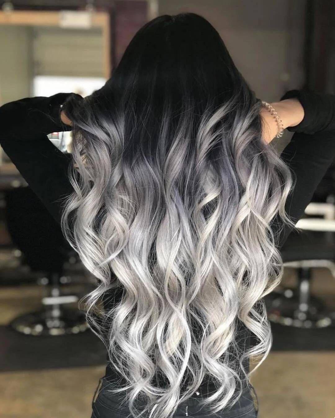 Ombre Grau – der neue Trend beim Ombre Look – Frisurentrends – ZENIDEEN