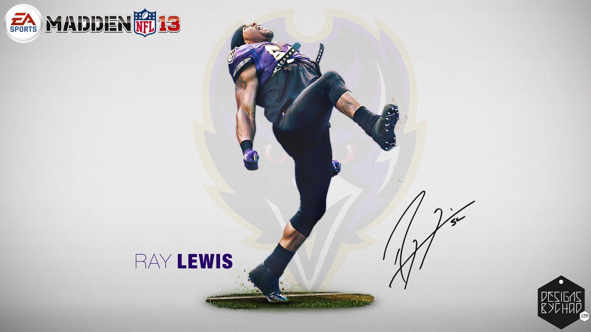 Ray Lewis 2013 Baltimore Ravens HD Wallpaper