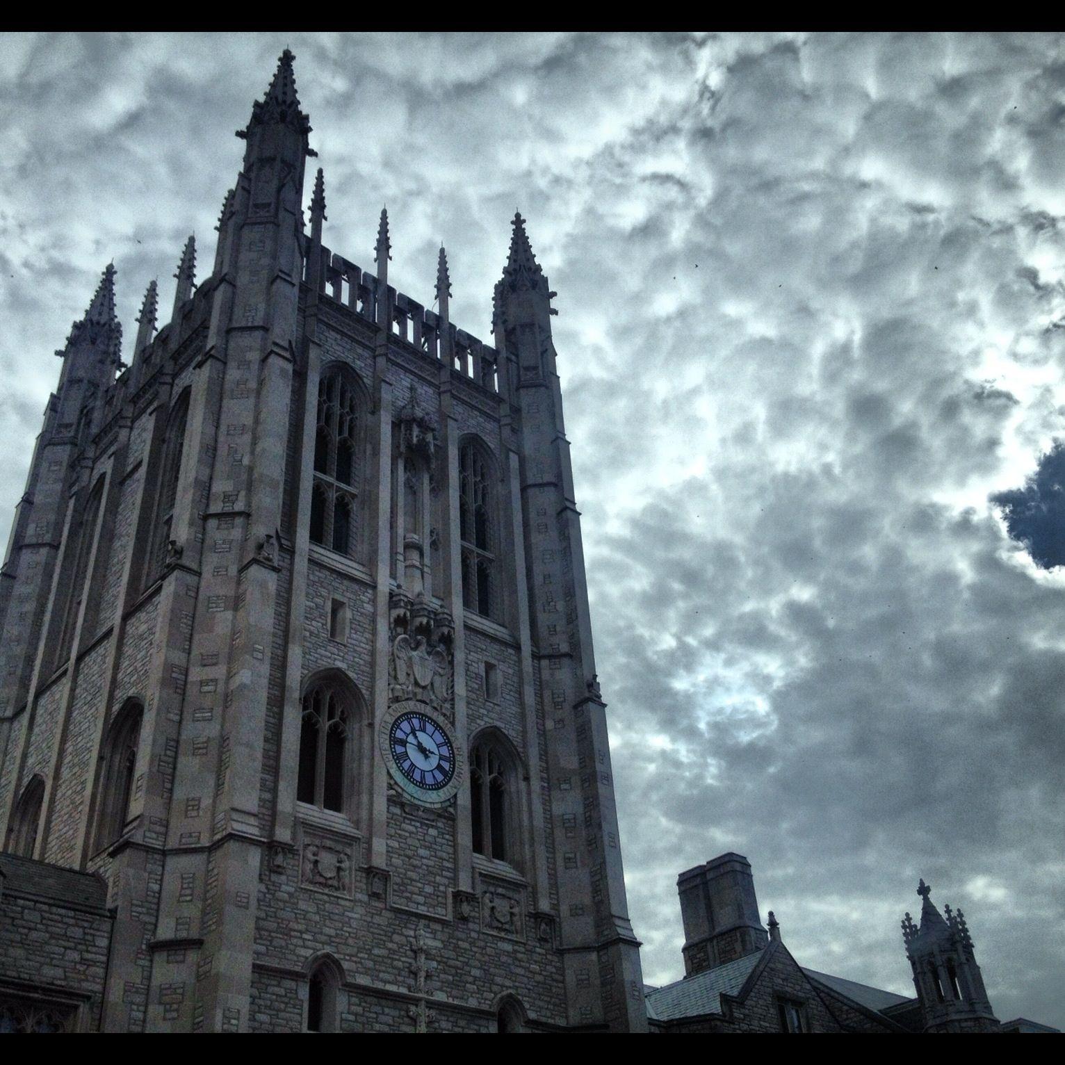 Memorial Union...I actually go to Hogwarts.
