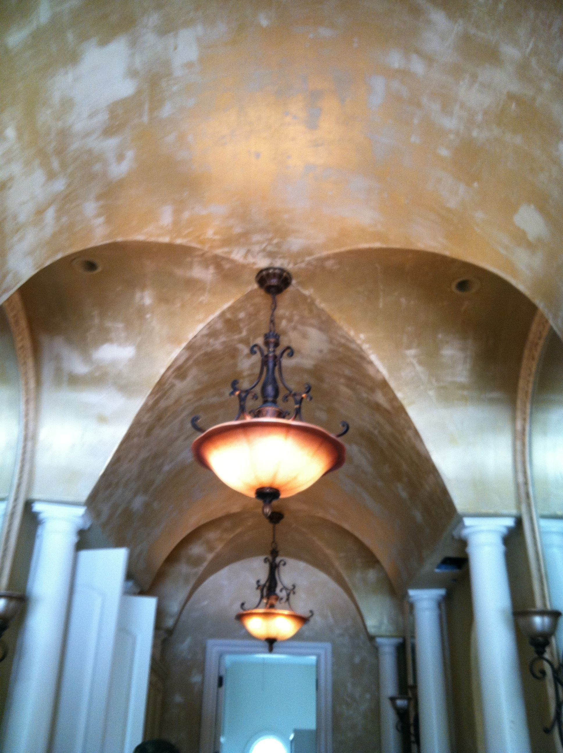 Master Bath Ceiling by Ashlie Bickford and Kindra Benge | A Fabulous ...