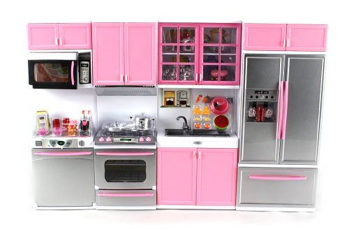 Kitchen Battery Operated Doll Playsets Toy Kitchen Toy Kitchen