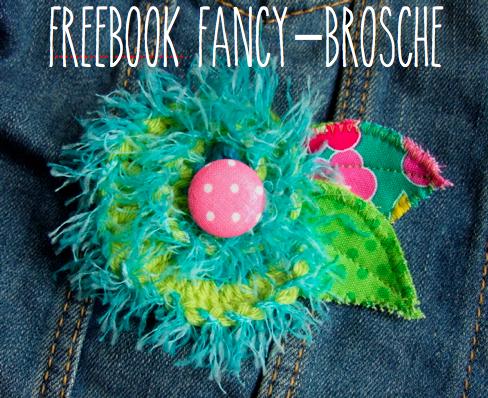 Freebook Brosche