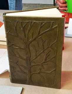 An Artist S Approach To Embossing Leather For Books With Bonnie Stahlecker By Rhonda Miller Book Binding Diy Bookbinding Book Cover Diy