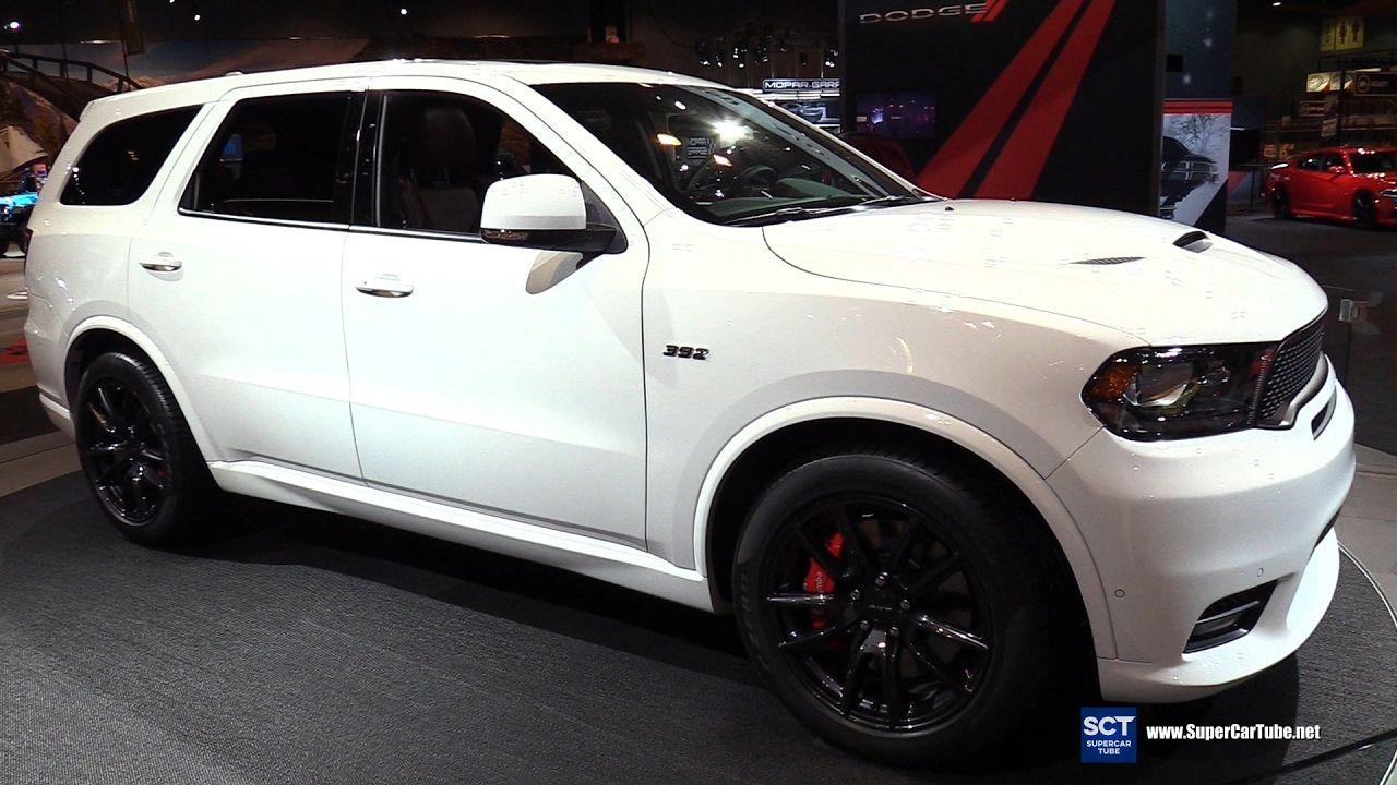 2018 Dodge Durango Srt Exterior And Interior Walkaround Debut At 201 Dodge Durango Durango American Muscle Cars Dodge