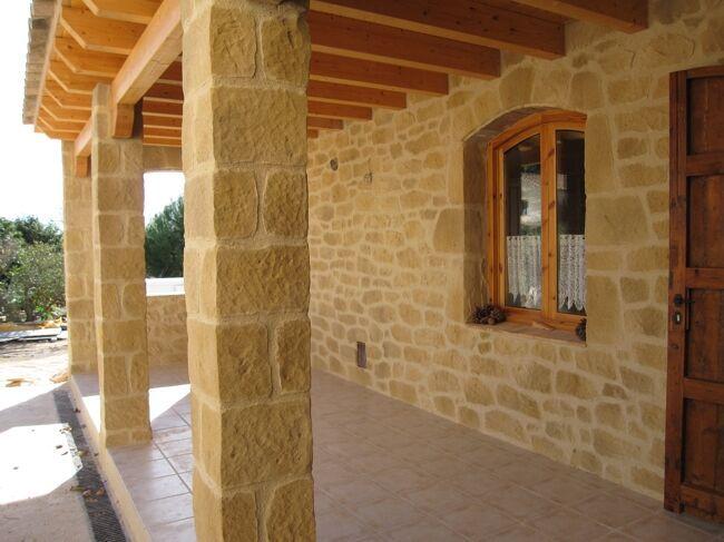 Columna terraza rustica cerca amb google can guillem for Pisos terrazas rusticas