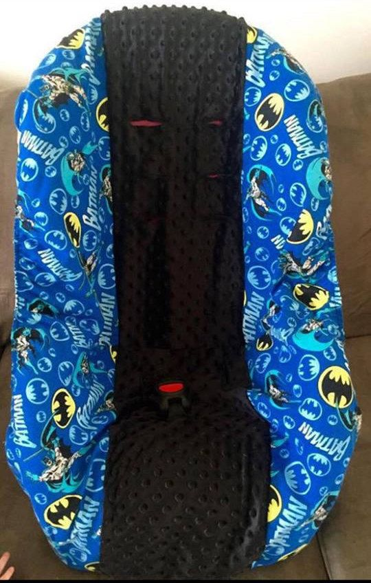 Batman Car Seat Slip Cover By SewSweeterBaby On Etsy