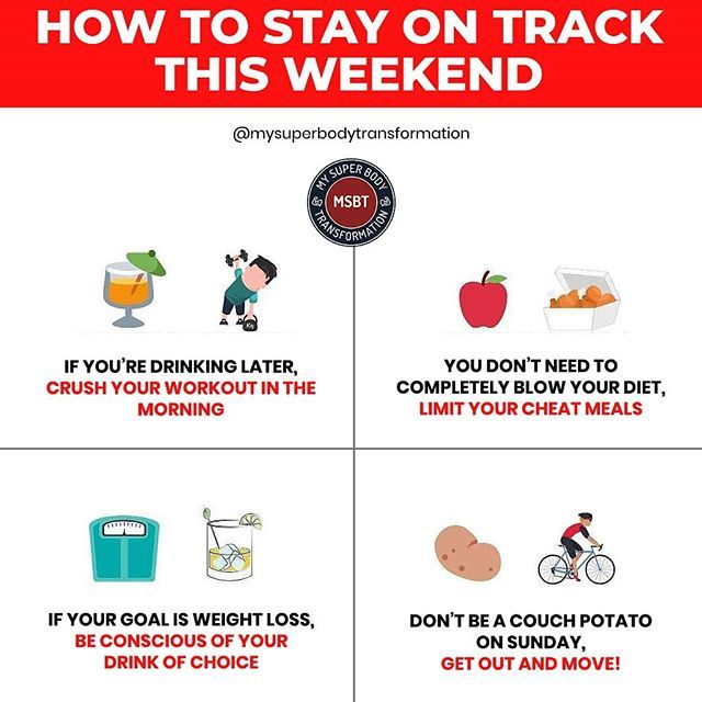 Stay On Track This Weekend! _ The Weekend Is An Easy Time