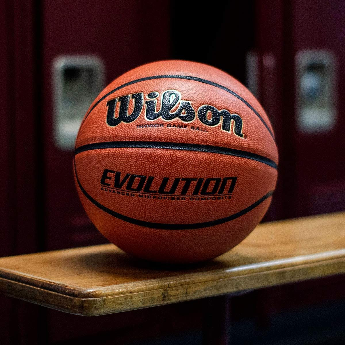 Wilson Evolution Game Basketball In 2020 Wilson Basketball Basketball Wilson