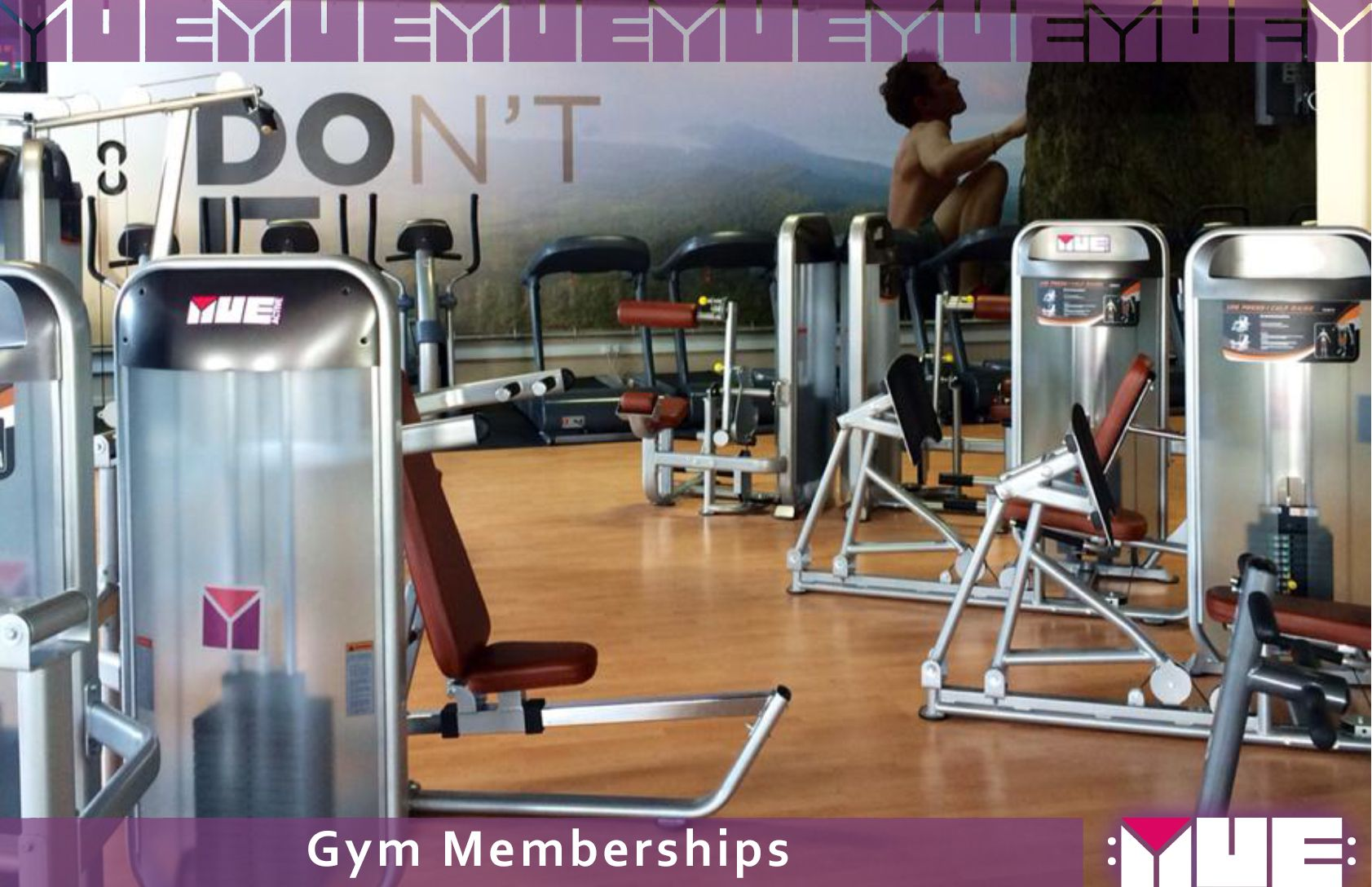 Healthy lifestyle gym membership