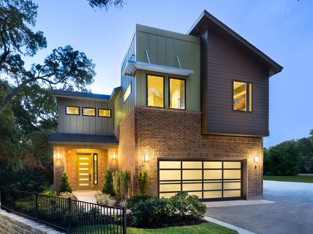 a stunning contemporary home in one of austins hottest neighborhoods new homes in the solavera - Modern Homes Austin Tx