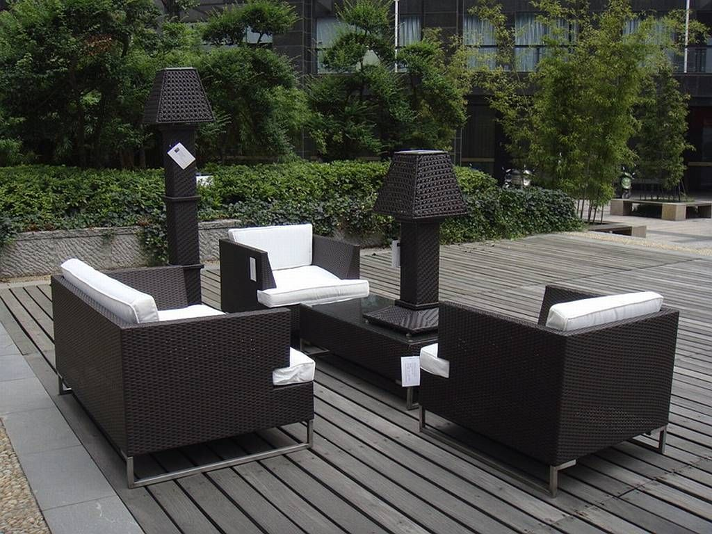 Modern Resin Patio Furniture