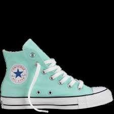 converse mint high tops