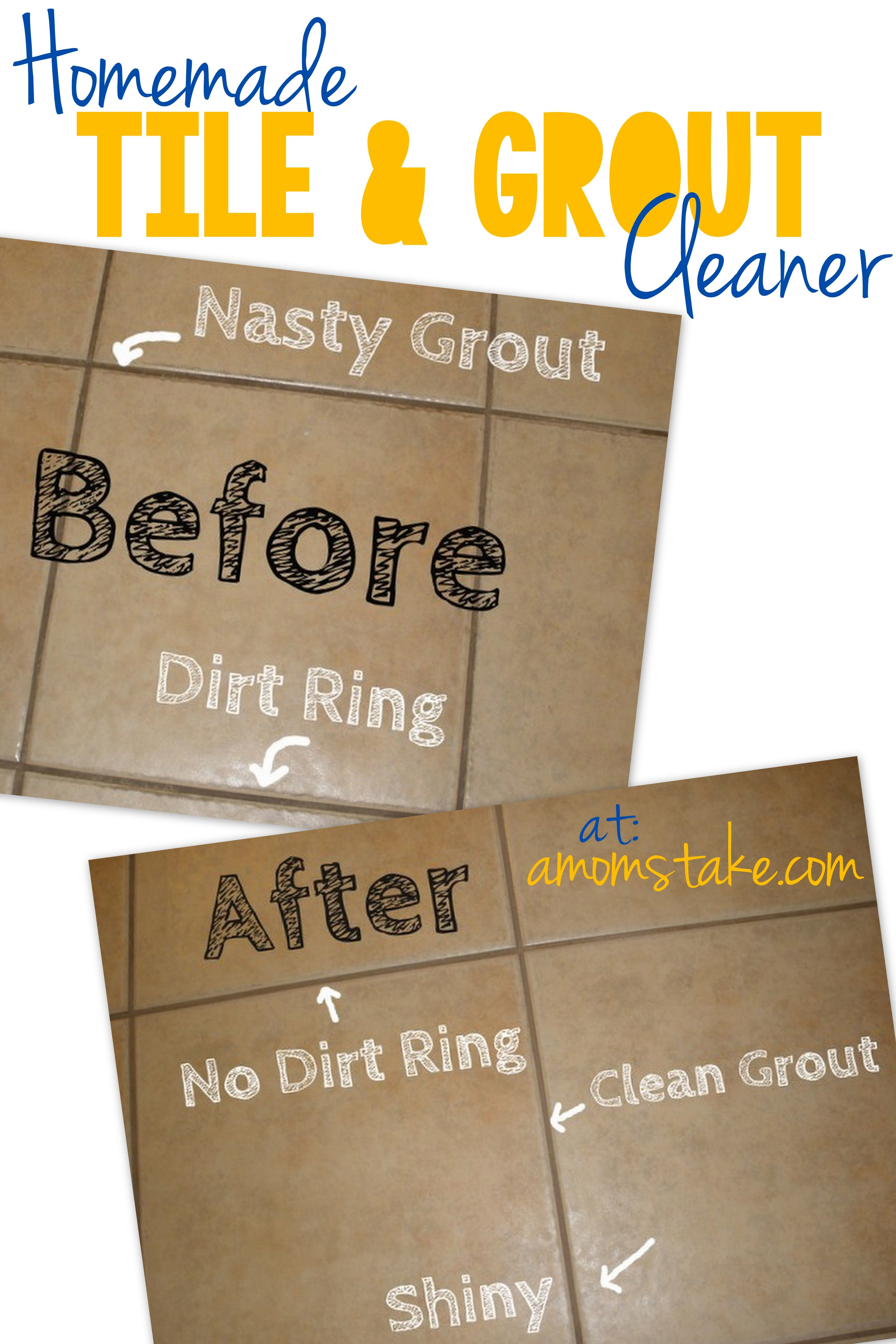 homemade tile and grout cleaner | homemade, sodas and tile