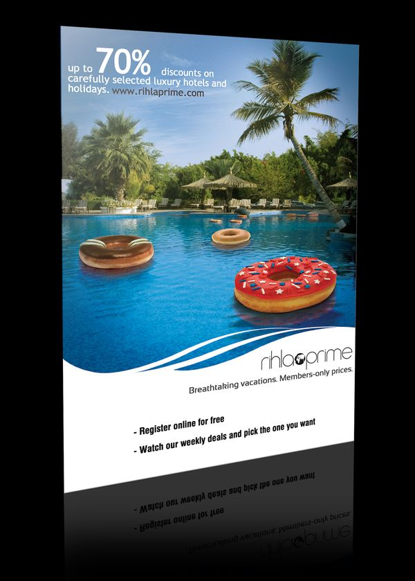 Luxury Hotels Flyers On Behance G R A P H I C Pinterest