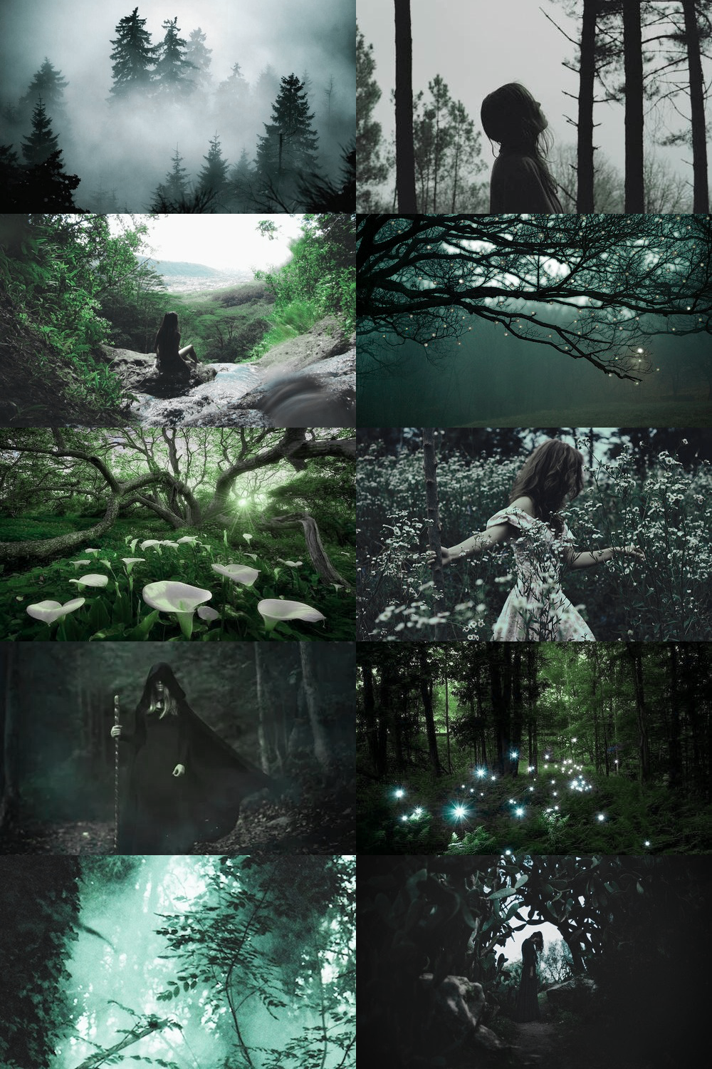 skogsrå is on hiatus! Witch aesthetic, Slytherin