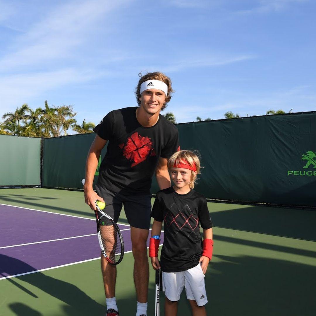 Sascha Mini Sascha Tennis Players Sport Tennis Alexander Zverev