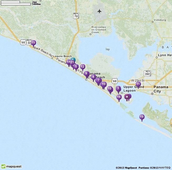 Laguna Beach Florida Map.4000 Marriott Dr Panama City Beach Fl 32408 Directions Location