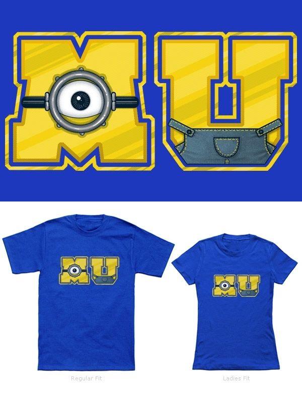 95e673e43e Camisetas Minions: Minion University   Minion Mania!   Minions