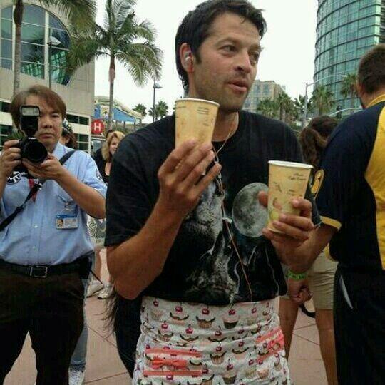 Misha Fucking Collins SDCC 2014