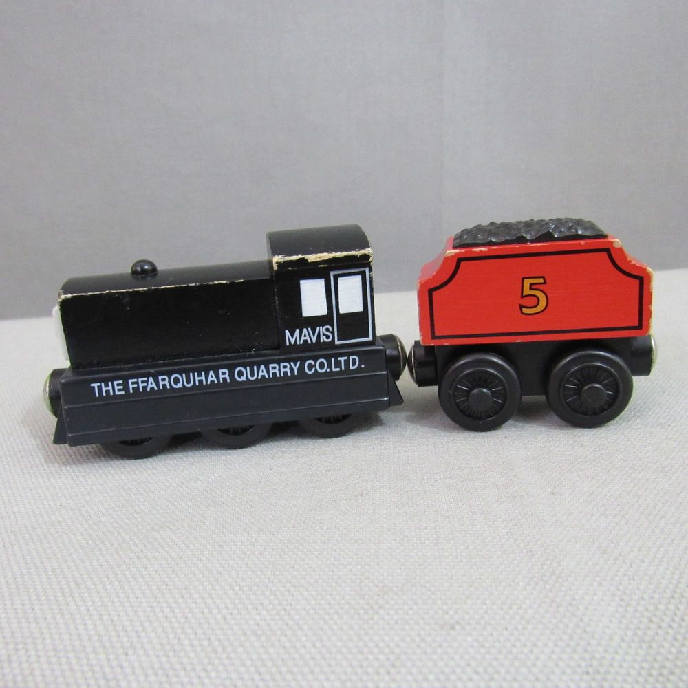 Thomas The Train Wooden Mavis Tank Engine James Tender Lot 2003