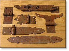 Rustic Hinges And Straps Furniture Hardware Directfrommexico