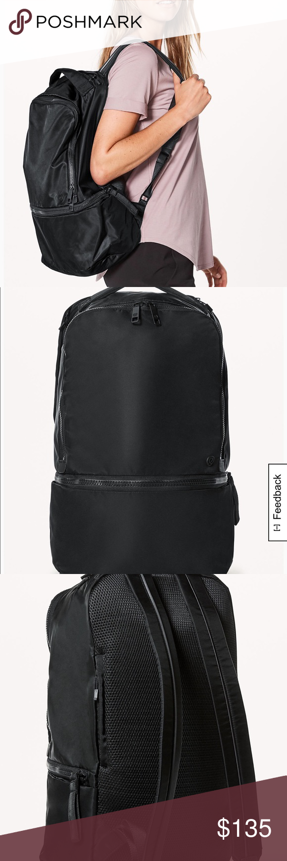 5475dd1bf0 Lululemon City Adventurer Backpack Large 24L You re good to go from work to  workout