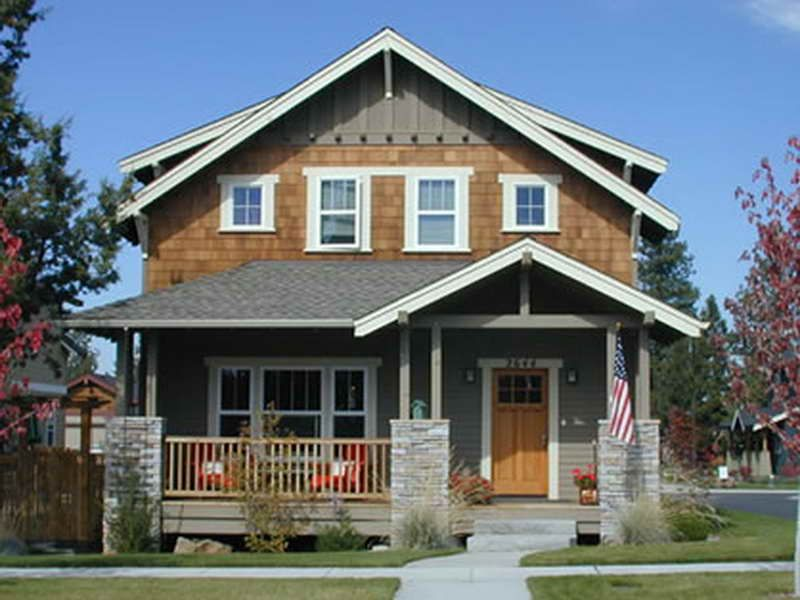 Craftsman style homes best simple craftsman style house for Two story craftsman homes